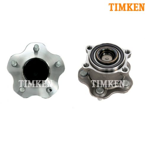 09-11 Nissan Murano; 11 Quest w/FWD Rear Wheel Bearing & Hub Assy PAIR (Timken)