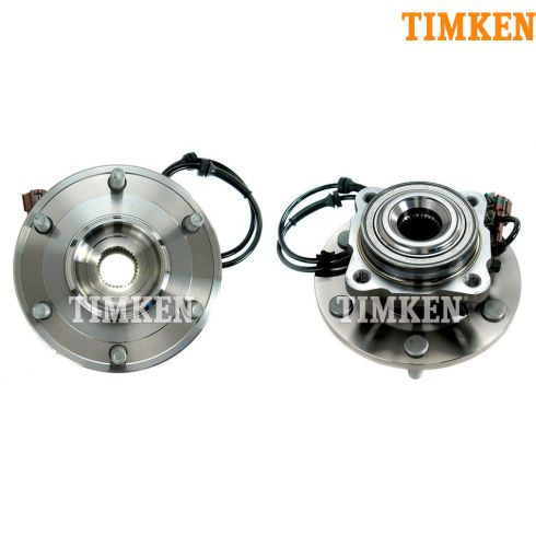 04 Nissan Pathfinder; 04-10 Armada; Infiniti QX56 Rear Wheel Bearing & Hub Assy PAIR (Timken)