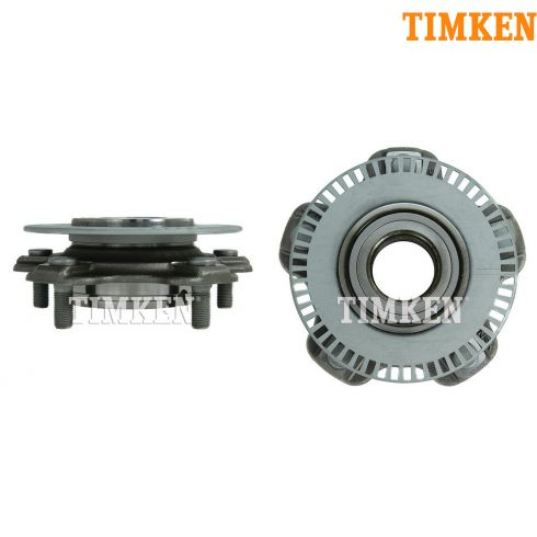 01-06 Suzuki XL7: 01-05 Grand Vitara Frt Hub & Brg w/ or w/o ABS PAIR (Timken)