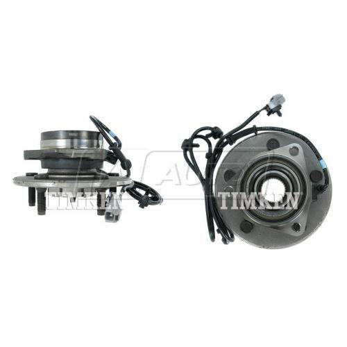 00-01 Dodge 1500 PU 4WD AWAL Front Hub & Bearing PAIR (Timken)