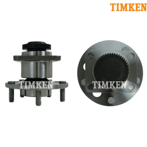 84-90 Chevy Corvette; 84-89 Excalibur Phaeton Front Wheel Bearing Assy PAIR (Timken)