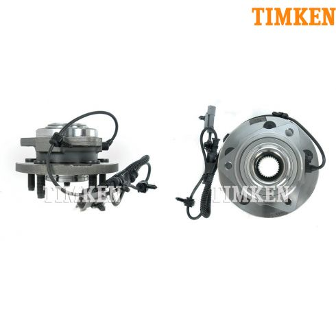 06-08 Jeep Commander; 05-08 Jeep Grand Cherokee Front Hub & Bearing PAIR (Timken)