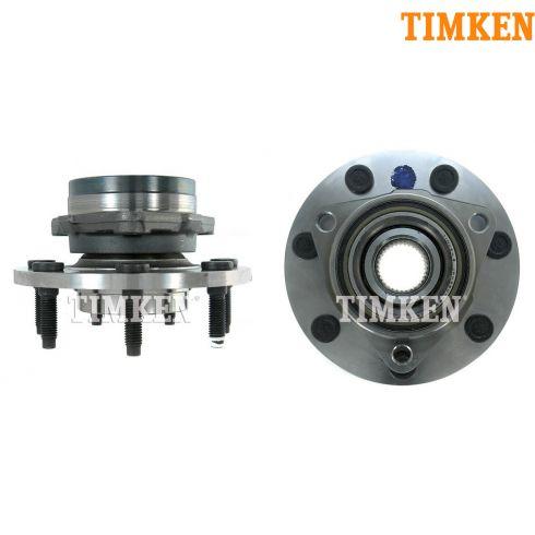 97-99 F250 LD; 00-04 F150 4x4 w/RWAL & 7 Stud Wheel Hub & Bearing PAIR (Timken)