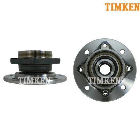 94-99 Dodge 3500 4x4; 94-98 3500 w/ I-beam axle 4x2 Front Hub & Bearing PAIR (Timken)