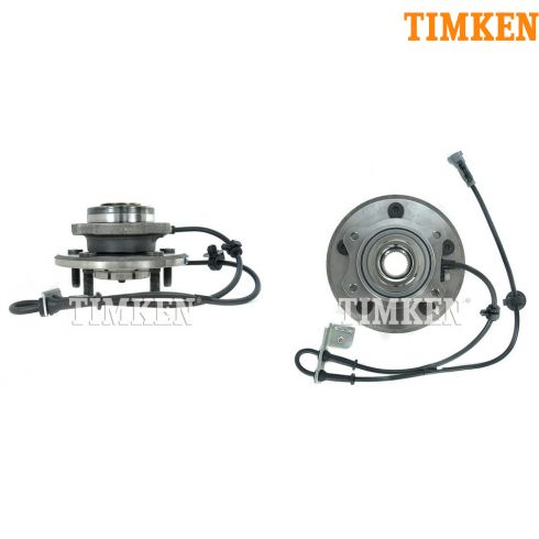 04-06 Chrysler Pacifica Front Wheel Bearing & Hub Assy PAIR (Timken)