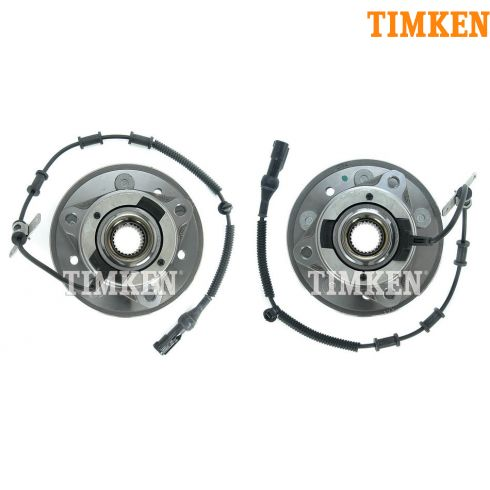 04-07 Ford Freestar, Mercury Monterey Front Wheel Bearing & Hub PAIR (Timken)