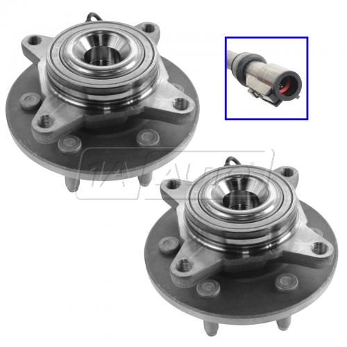 03-06 Ford Expedition, Lincoln Navigator 2WD Front Wheel Bearing & Hub PAIR (Timken)