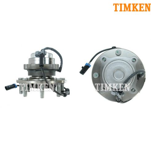 03-10 Chevy Express, GMC Savana Van (over 9600LB GVW) 2WD Front Hub PAIR (Timken)