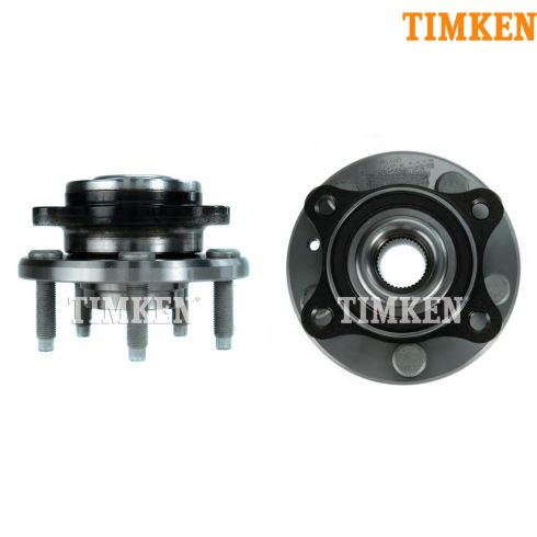 05-07 Ford 500, Freestyle, Montego; 08-09 Sable, Taurus, X Front Hub Bearing PAIR (Timken)