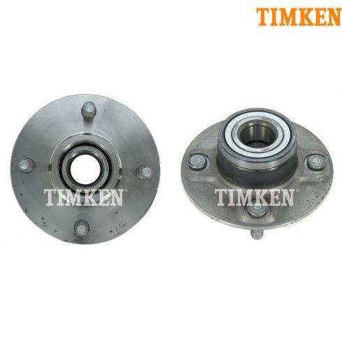 93-01 Nissan Altima Rear Hub & Bearing Asy w/o ABS PAIR (Timken)