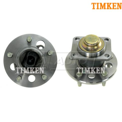 00-05 GM Mid Size FWD w/o ABS Rear Hub & Bearing PAIR (Timken)
