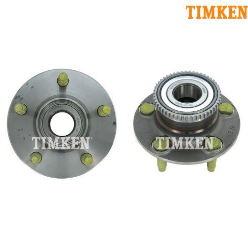 01-07 Ford Taurus; 01-05 Sable w/ABS & Drm Brk Rr Hub & Bearing PAIR (Timken)