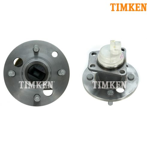 91-02 Saturn S Series w/ABS Rear Hub & Bearing Asy PAIR (Timken)