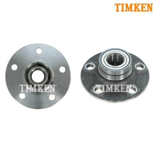 00-04 Infiniti Nissan Maxima Rear Hub & Bearing PAIR (Timken)