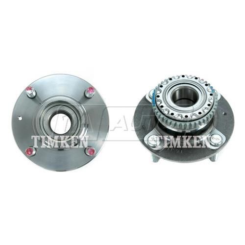 01-06 Hyundai Kia w/or w/o ABS Rear Hub & Bearing Assy PAIR (Timken)