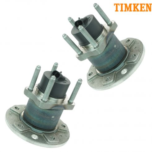 99-08 Saab 9-5 Rear Hub & Bearing Assembly PAIR (Timken)