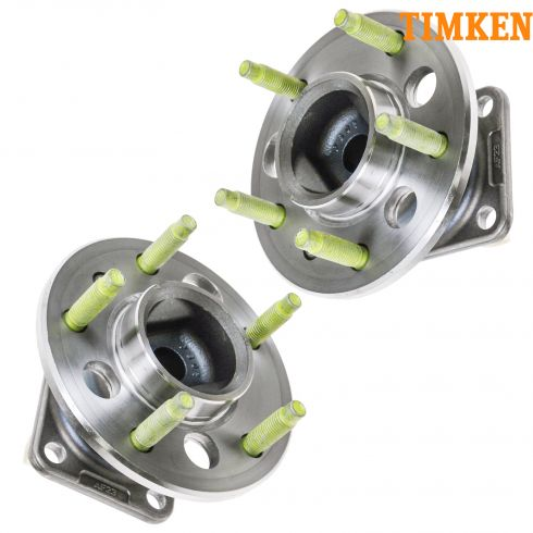 04-09 GM Mid Size FWD Car Rear Hub & Bearing Assy w/ABS PAIR (Timken)