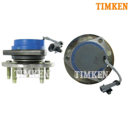 05 Montana, Terraza, Uplander FWD FE4; 03-07 CTS, 05-09 STS Front Hub & Brng PAIR (Timken)