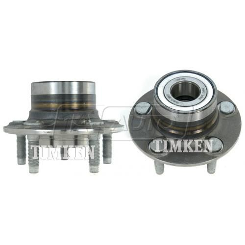 01-07 Ford Taurus; 01-05 Sable w/o ABS Hub & Bearing Rear PAIR (Timken)