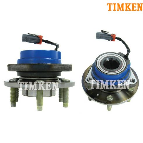 04-07 Cadillac CTS-V Hub & Wheel Bearing Rear PAIR (Timken)