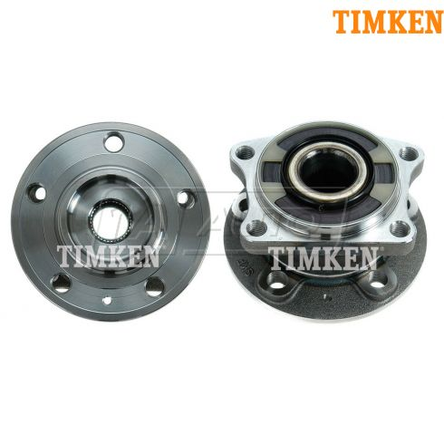 03-10 Volvo XC90 Wheel Bearing & Hub Rear PAIR (Timken)