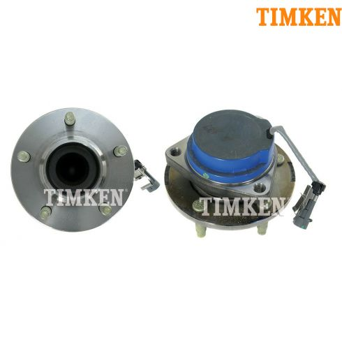 02-07 Buick Rendezvous FWD w/ ABS Rear Hub & Bearing PAIR (Timken)