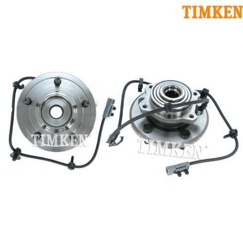 04-06 Chrysler Pacifica Rear Wheel Bearing & Hub Assy PAIR (Timken)