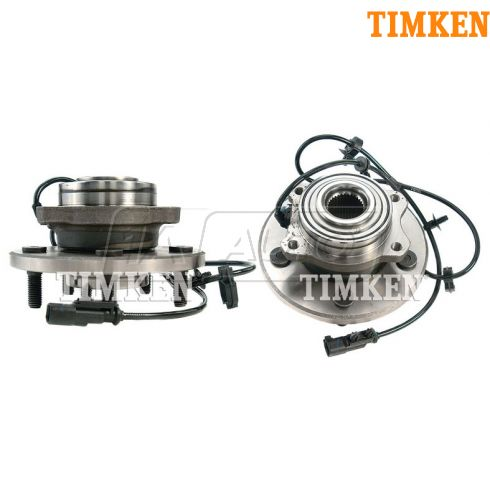 07-08 Chrysler Pacifica Rear Wheel Bearing & Hub Assy PAIR (Timken)