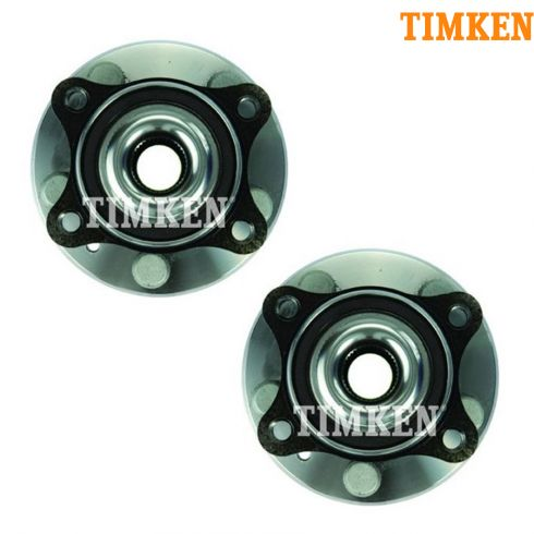 05-07 Ford 500, Freestyle, Montego; 08-09 Sable, Taurus, X FWD Rr Hub Bearing PAIR (Timken)
