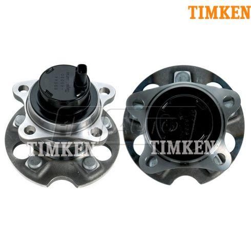 04-07 Highlander; 04-06 RX330; 07-09 RX350; 06-09 RX400H w/2WD Rr Wheel Bearing & Hub PAIR (Timken)