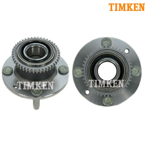 94-03 Escort; 92-96 MX-3; 95-03 Protege; 94-99 Tracer w/ABS Rr Wheel Bearing & Hub Asy PAIR (Timken)