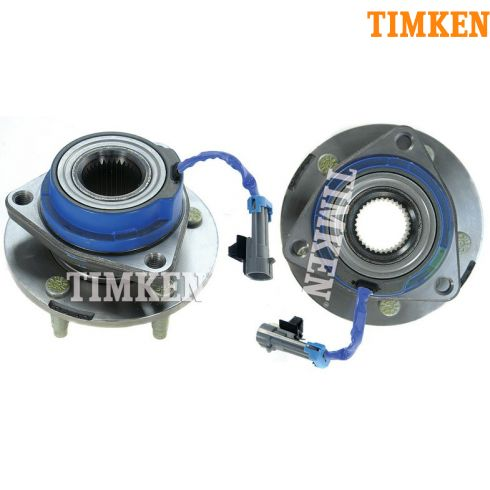 01-07 GM Mini Vans w/AWD Front Hub & Bearing Assy PAIR (Timken)