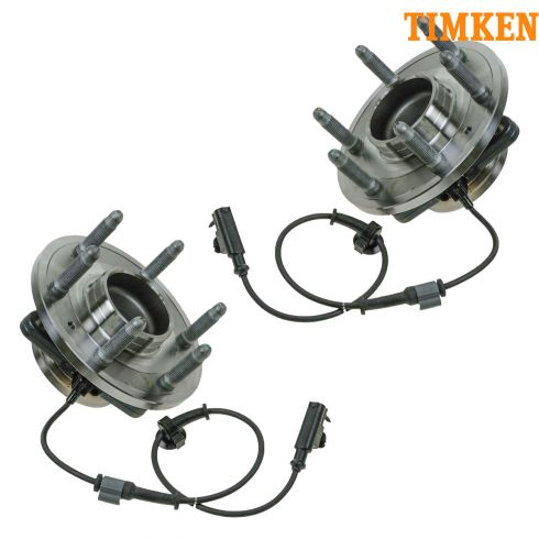 07-11 GM Full Size SUV PU 2WD Front Wheel Bearing & Hub PAIR (Timken)