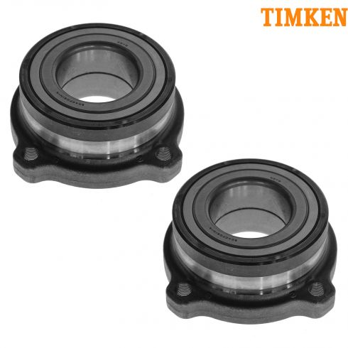 07-11 BMW X5, 08-11 X6, 10-11 X6 Hybrid Rear Wheel Bearing Module PAIR (Timken)