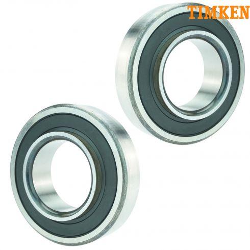 98-04 Tracker; 99-09 Grand Vitara; 99-04 Vitara Rear Wheel Bearing PAIR (Timken)