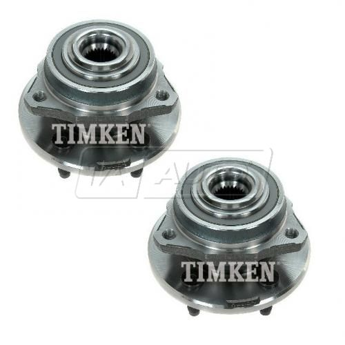 02-05 Jeep Liberty w/2WD Front Hub & Bearing Assy w/o ABS LH = RH (Timken) PAIR