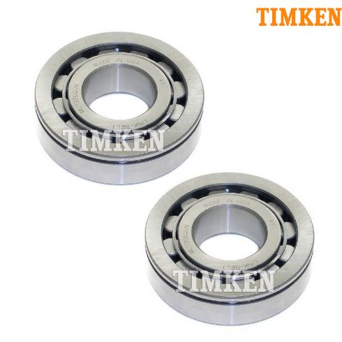 85-02 Astro, Safari Van; 99-01 Blazer, Jimmy Rear Axle Shaft Bearing PAIR (Timken)