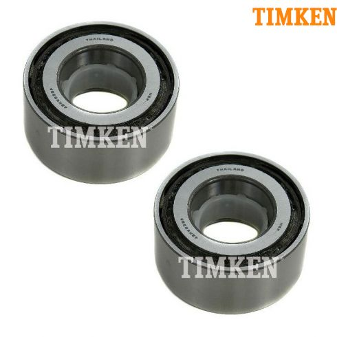 97-03 QX4; 99-04 Frontier; 96-04 Pathfinder; 00-04 Xterra Rear Axle Shaft Bearing PAIR (Timken)