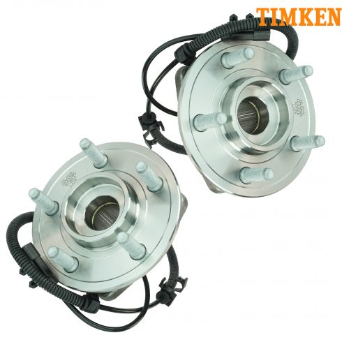 07-11 Dodge Nitro; 08-12 Liberty Front Wheel Bearing & Hub Assy PAIR (Timken)