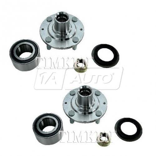 86-87 Accord; 88-89 Accord (exc EFI) Front Wheel Bearing & Hub Kit Assy PAIR (Timken)