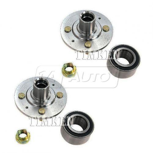 88-89 Accord (w/EFI) Front Wheel Bearing & Hub Kit Assy PAIR (Timken)