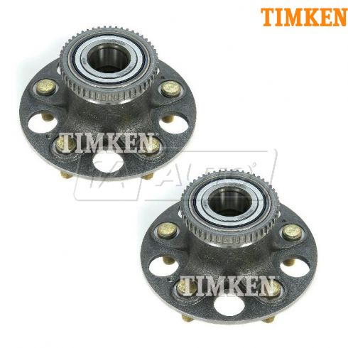 01-03 Acura CL Rear Wheel Bearing & Hub Assy PAIR (Timken)