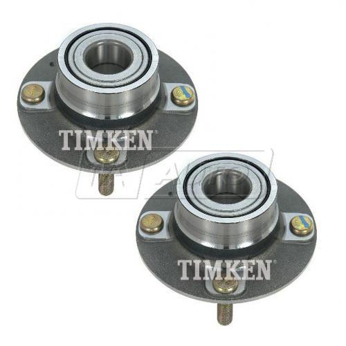 01-06 Elantra; 04-09 Spectra, Spectra5 (w/o ABS) Rear Wheel Bearing & Hub Assy PAIR (Timken)