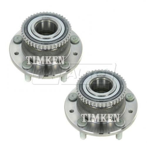 06-12 Fusion; 06-10 Milan; 03-07 Mazda 6 w/FWD, w/ABS Rear Wheel Bearing & Hub PAIR (Timken)