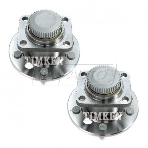 87-90 GM FWD Multifit (w/ABS) Rear Wheel Bearing & Hub Assy PAIR (Timken)