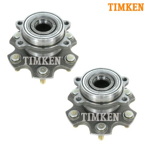 01-06 Mitsubish Montero Rear Wheel Bearing & Hub Assy PAIR (Timken)