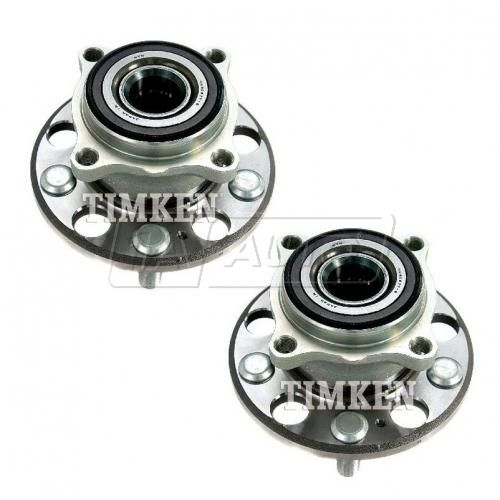 05-12 Acura RL; 09-12 TL w/3.7L Rear Wheel Bearing & Hub Assy PAIR (Timken)