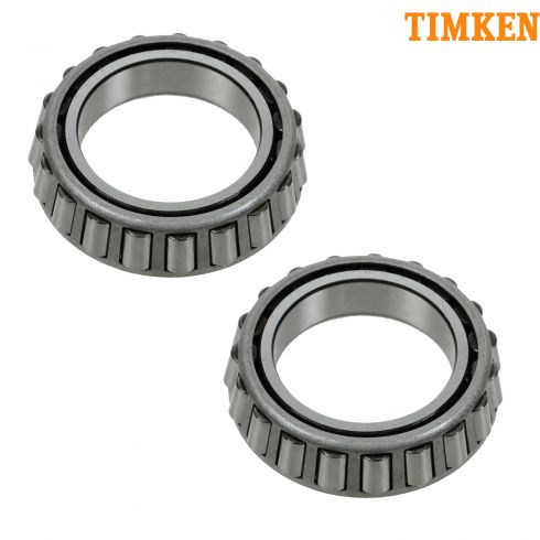 72-06 GM Full Size PU, SUV; 92-97 MB 400, 600, E, S, SL Rear Differential Bearing PAIR (Timken)