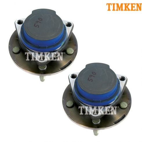 03-07 Buick Rendezvous FWD (w/o ABS) Rear Wheel Bearing & Hub Assy PAIR (TIMKEN)