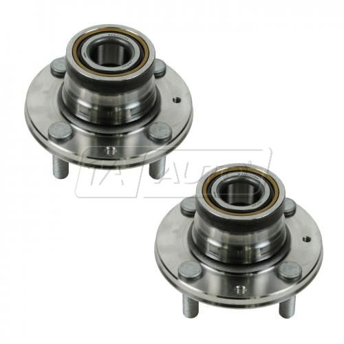 93-96 Colt, Summit; 93-02 Mirage (w/ ABS) Rear Wheel Bearing & Hub Assy PAIR (Timken)